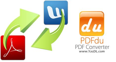 دانلود PDFdu PDF Converter 2.3.0.0 - نرم افزار ایجاد، ویرایش و تبدیل اسناد PDF