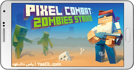 Pixel Combat Zombies Strike 2.0.2 - Pixel Battle: Zombie Killing For Android + Infinite Edition