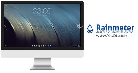 دانلود Rainmeter 4.1.0 Build 2989 - نرم افزار زیباسازی میزکار ویندوز