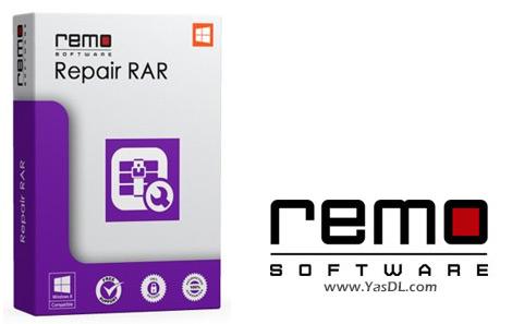دانلود Remo Repair RAR 2.0.0.18 - نرم افزار تعمیر فایل های RAR