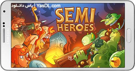 دانلود بازی Semi Heroes Idle Battle RPG 0.9.2 - محافظان درخت برای اندروید