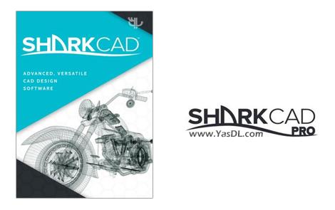 دانلود SharkCad Pro 10 Build 1335 x64 - نرم افزار مدل سازی 3 بعدی
