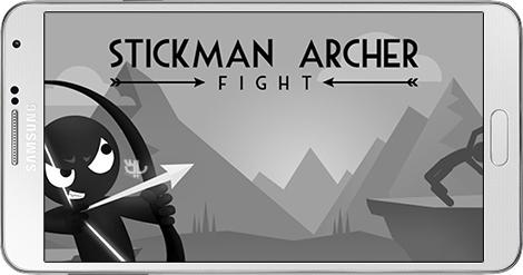 دانلود بازی Stickman Archer Fight 1.2.5 - نبرد تیروکمان برای اندروید + نسخه بی نهایت