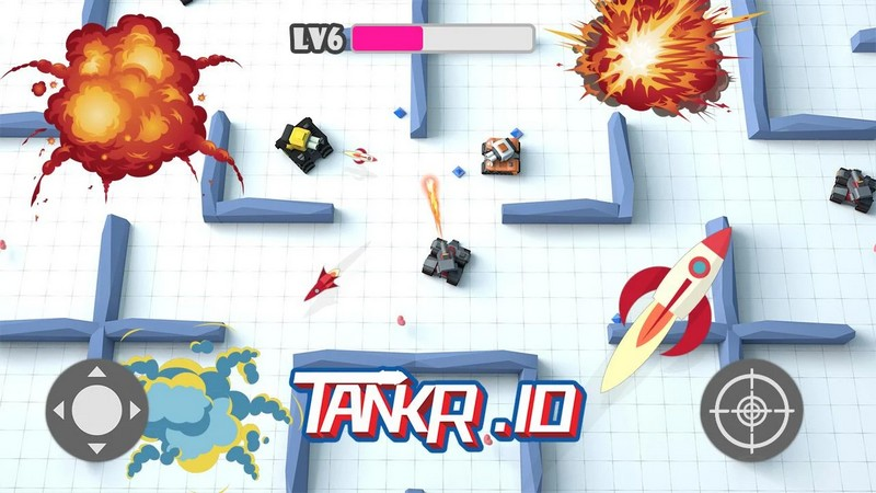 Tankr.io 2.5 Game - Tank Battle For Android + Infinite Edition