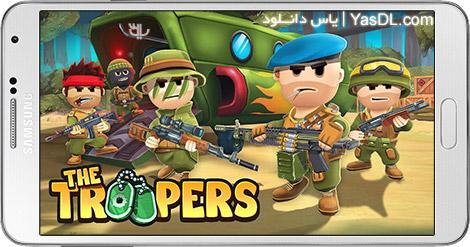 دانلود بازی The Troopers Minions in Arms 1.2.2 - سرباز کوچولو برای اندروید + دیتا + نسخه بی نهایت