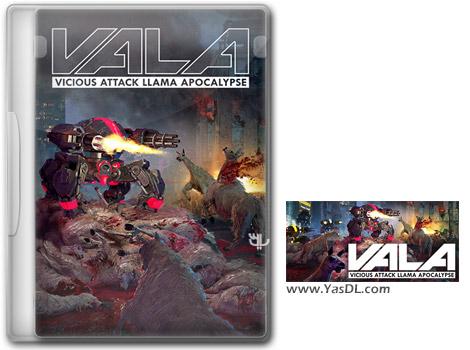 دانلود بازی Vicious Attack Llama Apocalypse برای PC