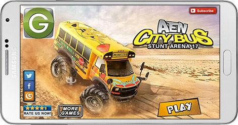 دانلود بازی AEN City Bus Stunt Arena 17 1.5 - اتوبوس غول پیکر برای اندروید + نسخه بی نهایت