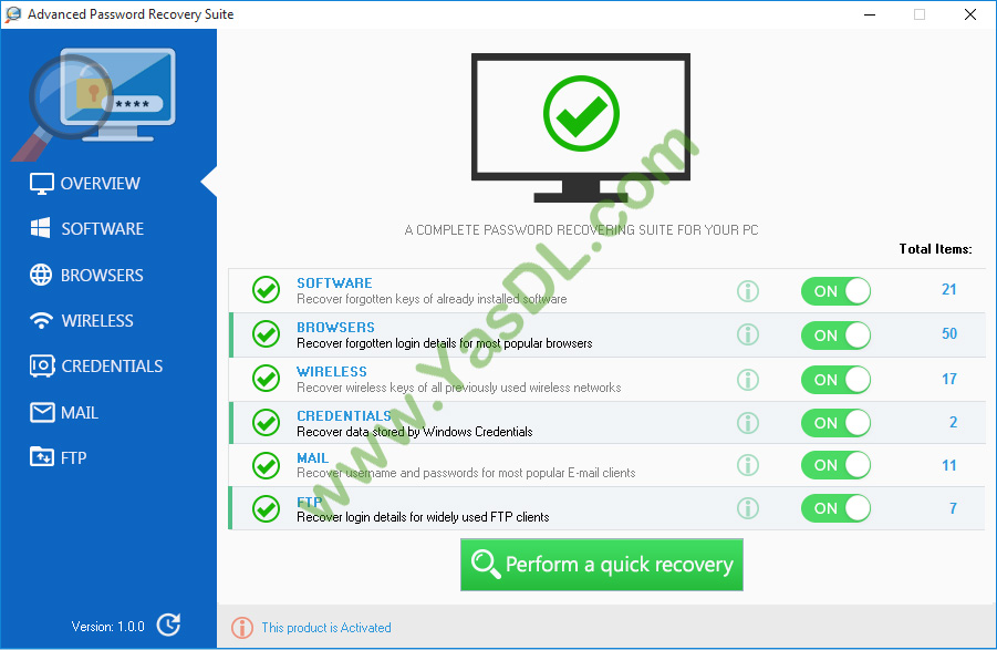 advanced pdf password recovery crack