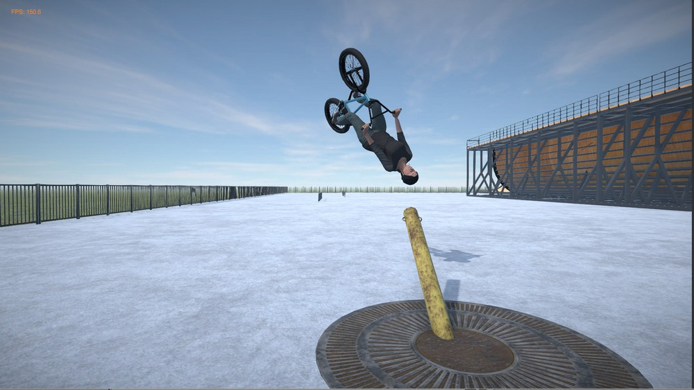 BMX Streets PIPE Game For PC