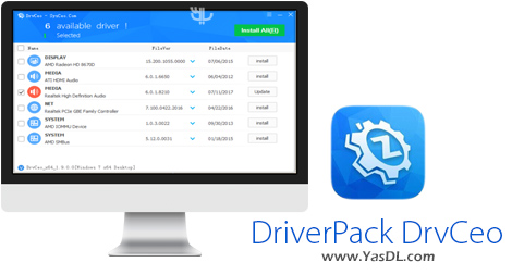 دانلود DriverPack DrvCeo 1.9.4.0 (XP,Win 7,Win 10) x86/x64 - مجموعه درایور آفلاین