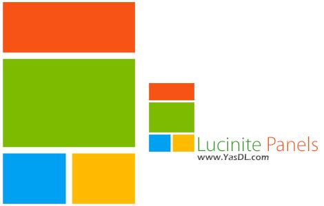 دانلود Lucinite Panels 2.0.1164.1247 - جایگزین تسک بار ویندوز