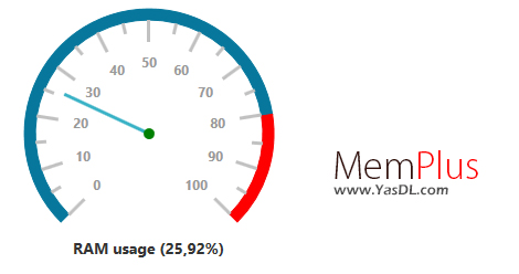 دانلود MemPlus 1.1.0.0 - نرم افزار بهینه سازی رم و افزایش سرعت کامپیوتر