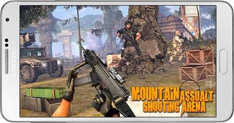 دانلود بازی Mountain Assault Shooting Arena 1.2 - تیراندازی در کوهستان برای اندروید + نسخه بی نهایت