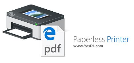 دانلود Paperless Printer Professional 6.0.0.1 - نرم افزار پرینتر مجازی