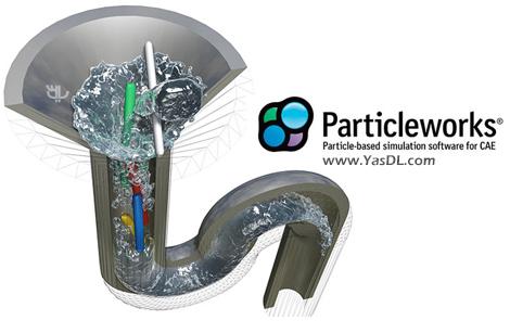 دانلود Prometech ParticleWorks 6.0 x64 - نرم افزار شبیه سازی حرکت ذرات