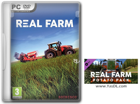 دانلود بازی Real Farm Grunes Tal Map and Potato Pack برای PC