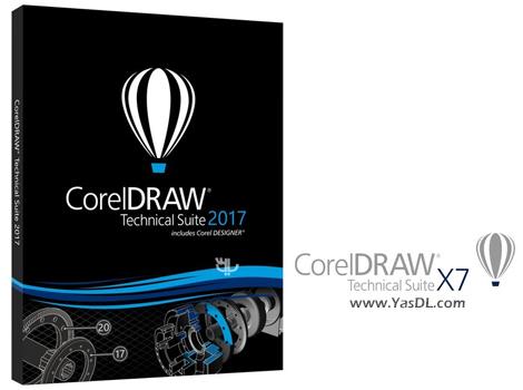 دانلود CorelDRAW Technical Suite 2017 19.1.0.414 - مجموعه ابزارهای طراحی کورل