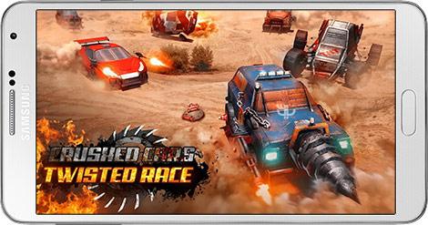 دانلود بازی Crushed Cars 3D - Extreme Car Racing Shooter 1.9 - ماشین جنگی برای اندروید + نسخه بی نهایت