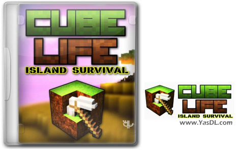 Play Cube Life Island Survival For PC