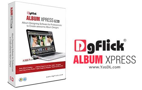 دانلود DgFlick Album Xpress PRO 12.0 - نرم افزار ساخت آلبوم های دیجیتالی