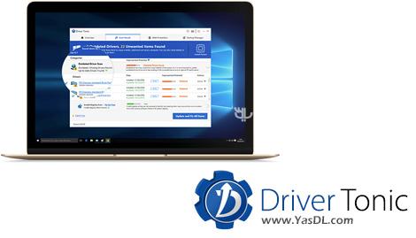 دانلود Driver Tonic 1.0.0.7 - نرم افزار مدیریت و بروزرسانی درایورها