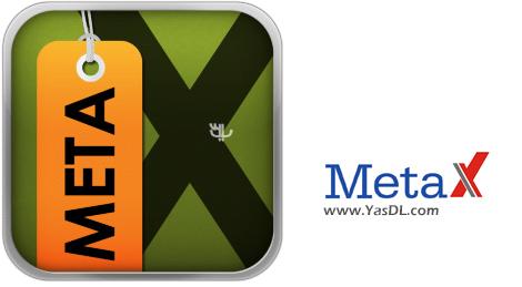 دانلود MetaX 2.65 - نرم افزار ویرایش تگ فایل های ویدیویی
