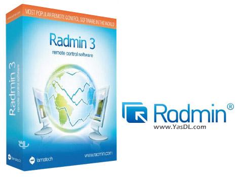 دانلود Radmin Remote Control 3.5 - نرم افزار ریموت کنترل سیستم ها
