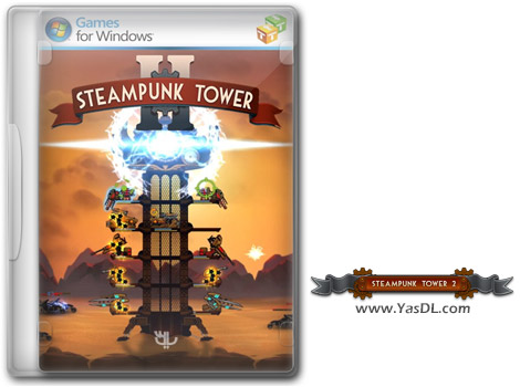دانلود بازی Steampunk Tower 2 برای PC