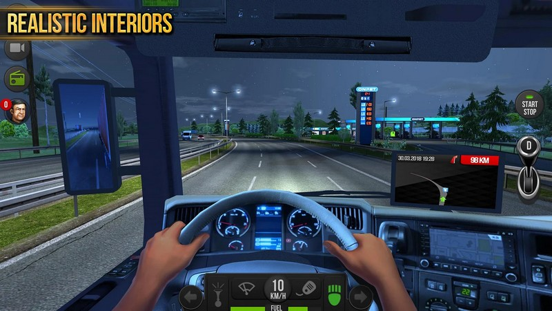 Truck Simulator 2018 Europe 1.0.0 - European Truck Simulator For Android + Infinite Edition
