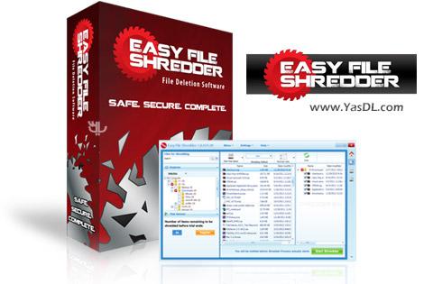 دانلود WebMinds Easy File Shredder 1.3.1690.624 - حذف غیرقابل بخش اطلاعات