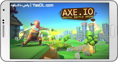 دانلود بازی AXE.IO 1.2.2 - پرتاب تبر برای اندروید + نسخه بی نهایت