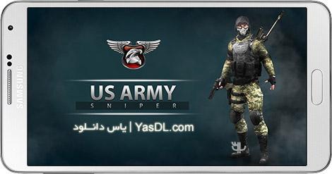 دانلود بازی US Army Sniper - Alpha Squad 1.15 - تک تیرانداز آمریکایی برای اندروید + نسخه بی نهایت