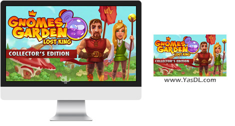 دانلود بازی Gnomes Garden Lost King Collectors Edition برای PC
