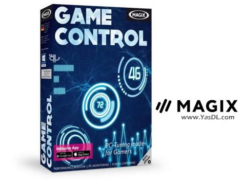 دانلود MAGIX Game Control 2.3.2.433 - بسته نرم افزاری قدرتمند مخصوص گیمرها