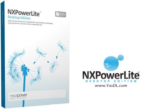 دانلود NXPowerLite Desktop 8.0.2 - نرم افزار فشرده سازی و کاهش حجم اسناد PDF