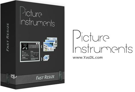 دانلود Picture Instruments Fast Resize Pro 2.0.0 - نرم افزار تغییر سایز تصاویر