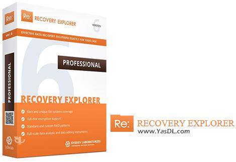 دانلود Recovery Explorer Professional 6.16.2.4894 - نرم افزار بازیابی اطلاعات