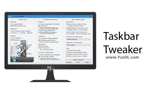 Taskbar Tweaker 5.5 – Software Edit And Personalize The Taskbar Windows