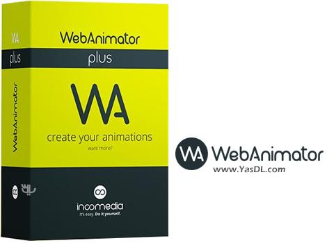 دانلود Incomedia WebAnimator Plus 3.0.2 + Portable - ساخت انیمیشن های وب