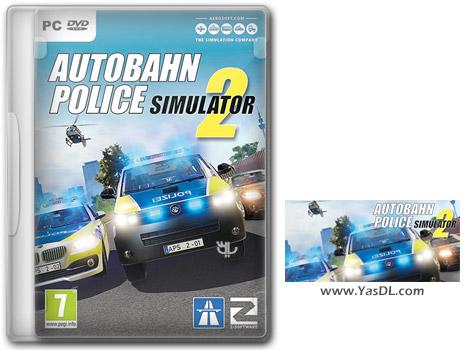 دانلود بازی Autobahn Police Simulator 2 + Update 1.17 برای PC