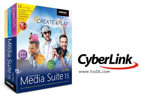 دانلود CyberLink Media Suite Ultra 15.0.1714.0 - ابزار چند منظوره فایل های مالتی مدیا