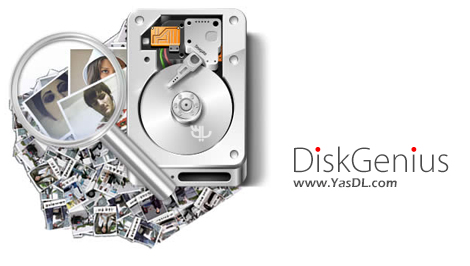 دانلود DiskGenius Professional 4.9.6.564 - نرم افزار بازیابی اطلاعات حذف شده