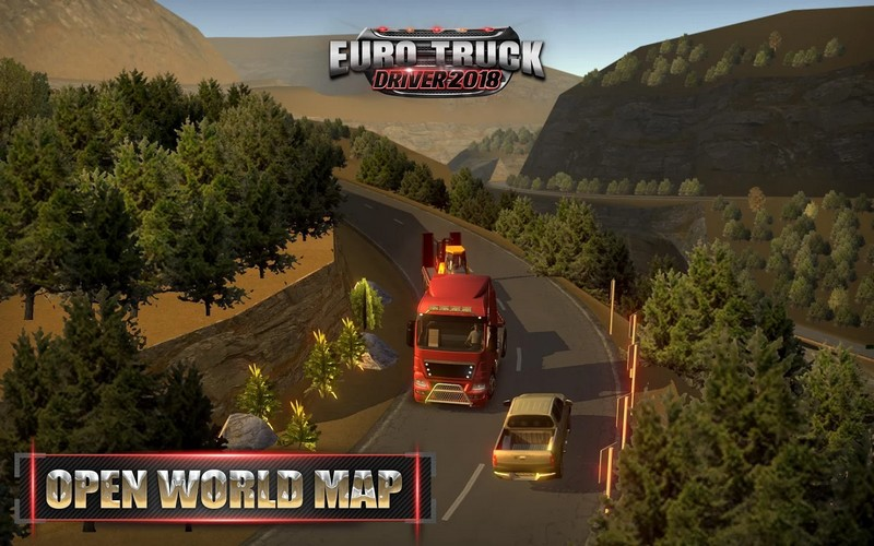 Euro Truck Driver 2018 2.3 Game For Android + Infinite Version