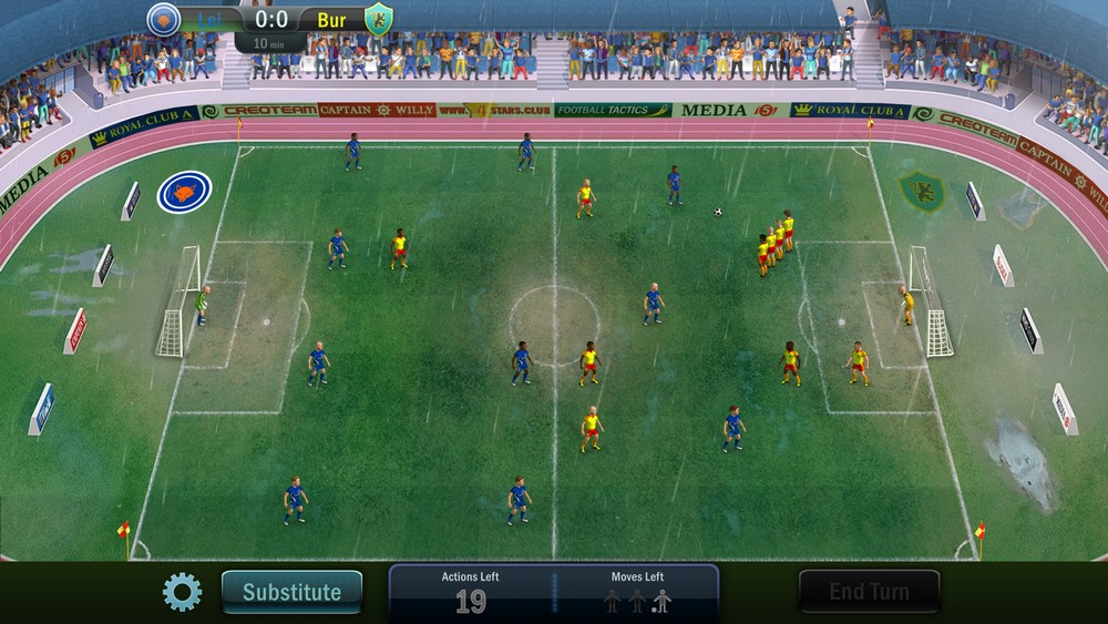 Game Football Tactics And Glory For PC