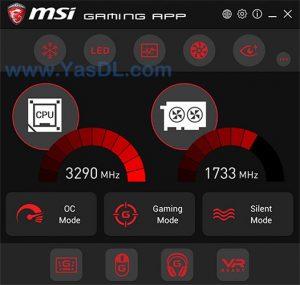 MSI Gaming App.cover1  300x285 - دانلود MSI Gaming App 6.2.0.74 - نرم افزار بهینه سازی و اورکلاک کارت های گرافیک MSI