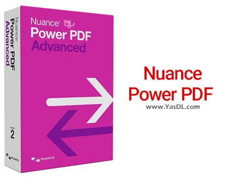 دانلود Nuance Power PDF Advanced 3.00 - نرم افزار ساخت و ویرایش PDF