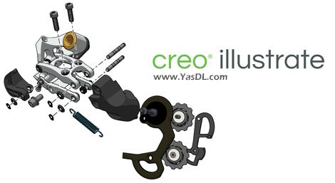 دانلود PTC Creo Illustrate 5.0 F000 - تولید راهنمای کاربری محصولات صنعتی