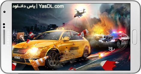 دانلود بازی Police Chase: Death Race 1.3.42 - تعقیب و گریز پلیسی برای اندروید + نسخه بی نهایت