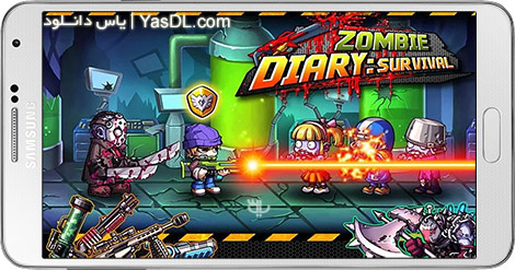 دانلود بازی Zombie Diary 1.3.0 - تاریخچه زامبی ها برای اندروید + نسخه بی نهایت