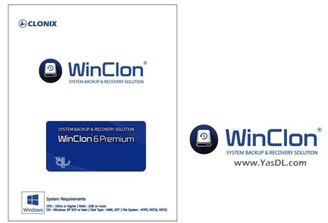 دانلود Clonix Winclon Premium 6.3.0.2 - نرم افزار پشتیبان گیری از اطلاعات